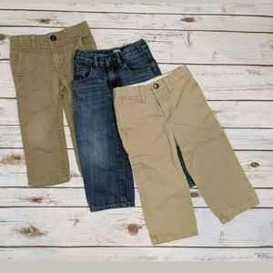 Baby Gap Lot of 3 Boys Pants 2 years 2T